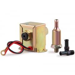 Bomba Elétrica Gasolina E Álcool Universal Carburador 12v